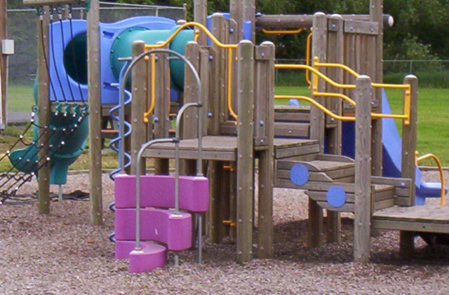 playground equipment in City park